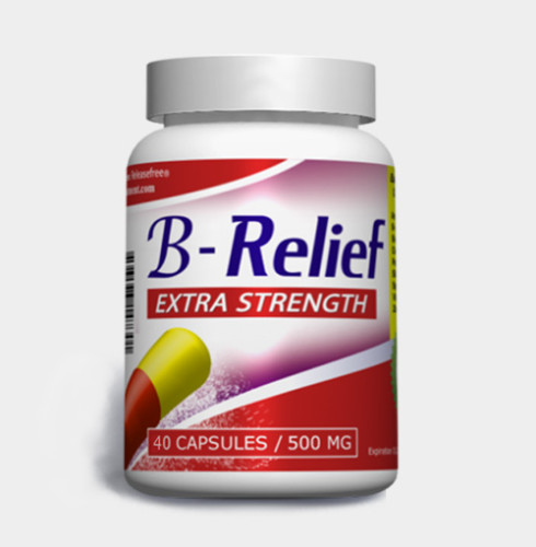 Make your Baker's Cyst disappear safely and quickly with a bottle of B-Relief Extra-strength Caps. INFO: bakerstreatment.com