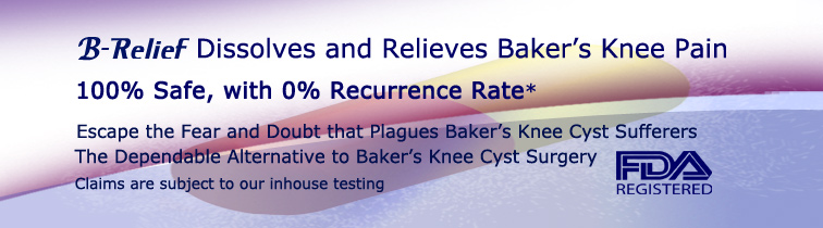 Baker's-Keen-Cyst-Pain-relief-B-Relief-Capsules INFO bakserstrreatment.com
